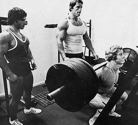 old school squats
